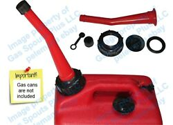 Chilton Red Gas Can Spout And Parts Kit Sears Craftsman Aftermarket Replacement