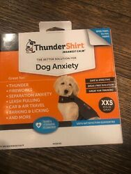 Thundershirt Dog XXS Gray Anxiety Thunder Fireworks Travel For Dogs under 7lbs $17.88