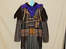 Fortnite Cosplay Raven Outfit Costume One Piece Epic Video Game New Menand039s Xl