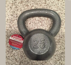 25lb Kettlebell Weider New Low Stock- 25 Lb Free Ship 25 Lbs