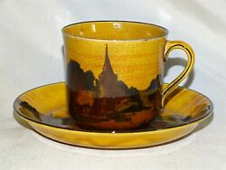 Royal Doulton England Church Scenes Cup And Saucer D2846