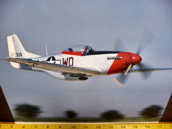 World War Ii Fighter North American P51 Mustang Picture From 2007 Calendar