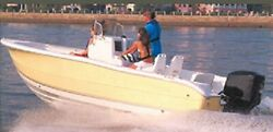Carver 70021p Styled-to-fit Cover For V-hull Center Console Fishing Boat