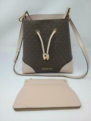 Michael Kors Mercer Gallery Convertible Bucket Leather Bag LE RAND PSH003660 $129.95