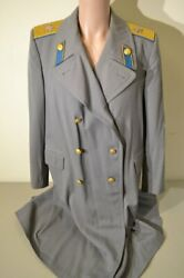 Wwii Type M43 Ussr Soviet Russian Air Marshal Rain Coat 1950and039s