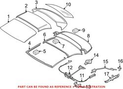 Genuine Oem Convertible Top Seal For Bmw 54377128761