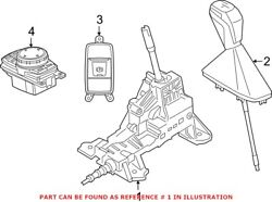 Genuine Oem Automatic Transmission Shift Lever For Bmw 25168483098