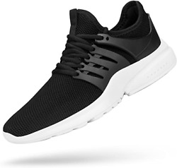 4pcs Black Men#x27;s Sneakers Shoes Ultra Lightweight Breathable Athletic Shoes $100.00