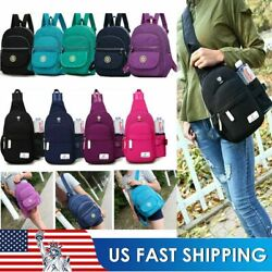 Mini Women Backpack Purse Nylon Small Backpack Shoulder Rucksack Bag Travel US $12.34