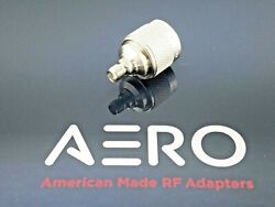 Aero High Performance Type N Male To Sma Female Adapter 18 Ghz Made In Usa