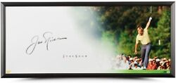 Jack Nicklaus Autographed Show The Putt Framed 46 X 20 Display Piece Uda