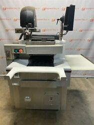 Hobart Automatic Deli Meat Wrapping Station Scale Uws Monitor As Is