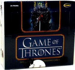 Game Of Thrones The Complete Series Trading Cards 12 Box Case Blowout Cards