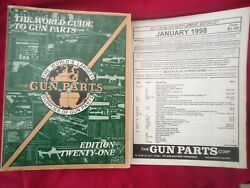 Gun Parts Corporation Parts Reference 21st Edit. 855 Page Manual-vg Used Cond