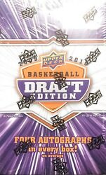 2010 Upper Deck Draft Edition Basketball Box Look For Stephen Curry Harden Rc Au
