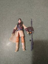 Star Wars Black Series 6 Inch Princess Leia Boushh ROTJ Loose Complete Figure $40.00
