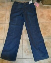 Vintage Levi's Orange Tab Young Misses Prospector 1977 New With Tags Size 16