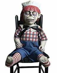 Dandy Andy Frightronic Rocking Haunted Doll Prop Halloween Decoration Dcor