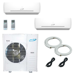 Air-con 36000 Btu Dual Zone With 12000 Btu And 18000 Btu Wall Mount Ductle