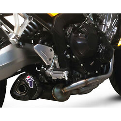 Full Exhaust System Honda Cb 650 2014 14 Termignoni Motorcycle Relevance Carbon