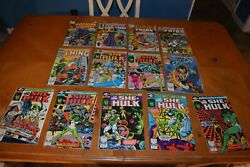 Comic Books Bakers Dozen Rare Key Issues She-hulk, The Thing, Spider-man And More
