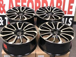 22 Range Rover Autobiography Supercharge Wheels Replica 2018 New Set Of 4