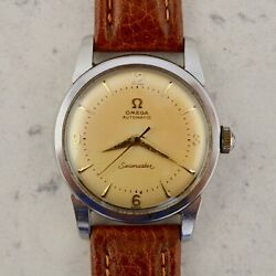 C.1954 Vintage Omega Seamaster Automatic Watch Cal. Andomega 354 Ref.2767-5 In Steel