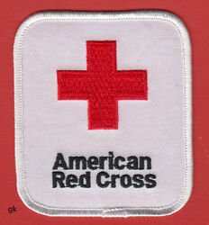 AMERICAN RED CROSS SHOULDER PATCH Large $7.00