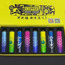 Clipper Lighter Wheel Metal Free Fire Pocket Refillable Lighter For Collection