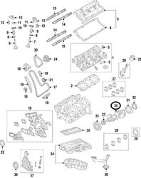 Genuine Oem Engine Timing Cover For Toyota 1131031030