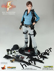 Scale 1/6 Hottoys Bass Resident Evil 5 Jill 1.0 Outfit Female Action Figure Toy