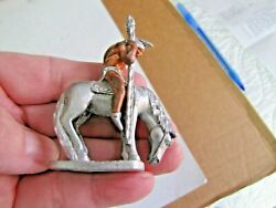 Spoontiques Pp1133 Pewter Indian On Horse