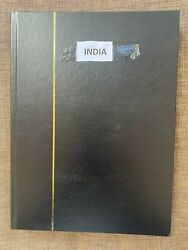 India Mint/used Postage Stamp Album Collection