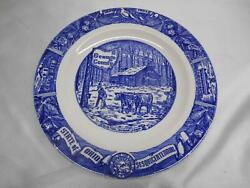 Old Vtg 1803-1953 Geauga County State Of Ohio Sesquicentennial Collector Plate