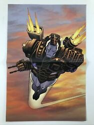 Iron Man War Machine Tpb Cover By Kevin Hopgood Marvel Comics Poster 10.5x16