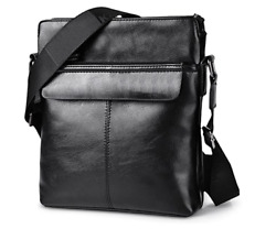Mens Crossbody Business Bags Shoulder Cross Body Messenger Purse Bag Gift $23.99