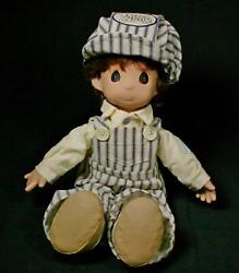 Vintage Precious Moments Dusty The Engineer Doll 1993 Retired