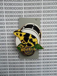 Hard Rock Cafe Panama Hotel 2014 - Poison Frog - On Logo In Front Of Drum Pin