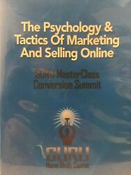 The Psychology And Tactics Of Marketing And Selling Online Guru Master Class Dvd