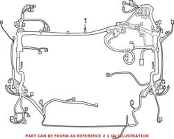 Genuine Oem Engine Wiring Harness For Toyota 8211142d72