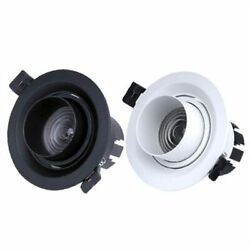 Dimmable Led Embedded Zoom Downlights Ceiling Lamp Spotlights Indoor Lighting