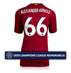 Trent Alexander-arnold Official Uefa Champions League Back Signed Liverpool 2019