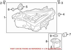 Genuine Oem Front Right Headlight Assembly For Lexus 8114524210