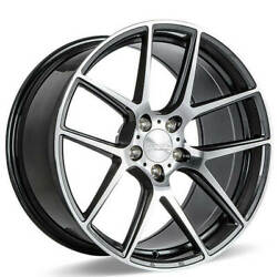 4ea 20 Ace Alloy Wheels Aff02 Grey With Machined Face Rimss42