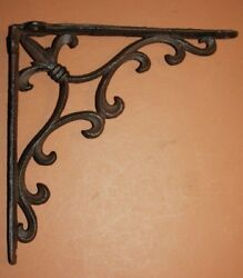 Antique Style French Country Patio Corbels Garden Braces Cast Iron 10 B-72