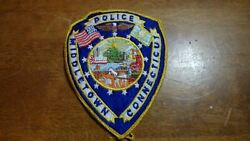Middletown Connecticut Police Department Police Obsolete Patch  Bx M 11