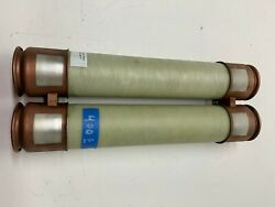 Used Three 3 G.e. Current Limiting Fuse 103l751g20 Fuse 400e Amp 5.5kv Nos