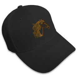 Dad Hats For Men Animal Hose Head Embroidery Women Baseball Caps Strap Closure