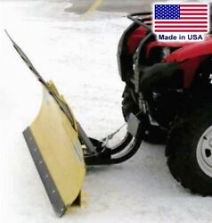 50 Atv Snow Plow For Can Am Outlander - Front Mount - Quick Connect Bracket