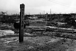 Ww2 Photo Plaques Over The Common Graves Of Victims Of The Atomic Bombing O1205